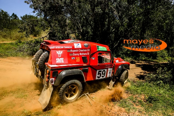 KCB Safari Rally, SAME not just for tractor
