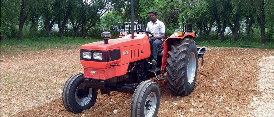 Same Tractors Open Field Same