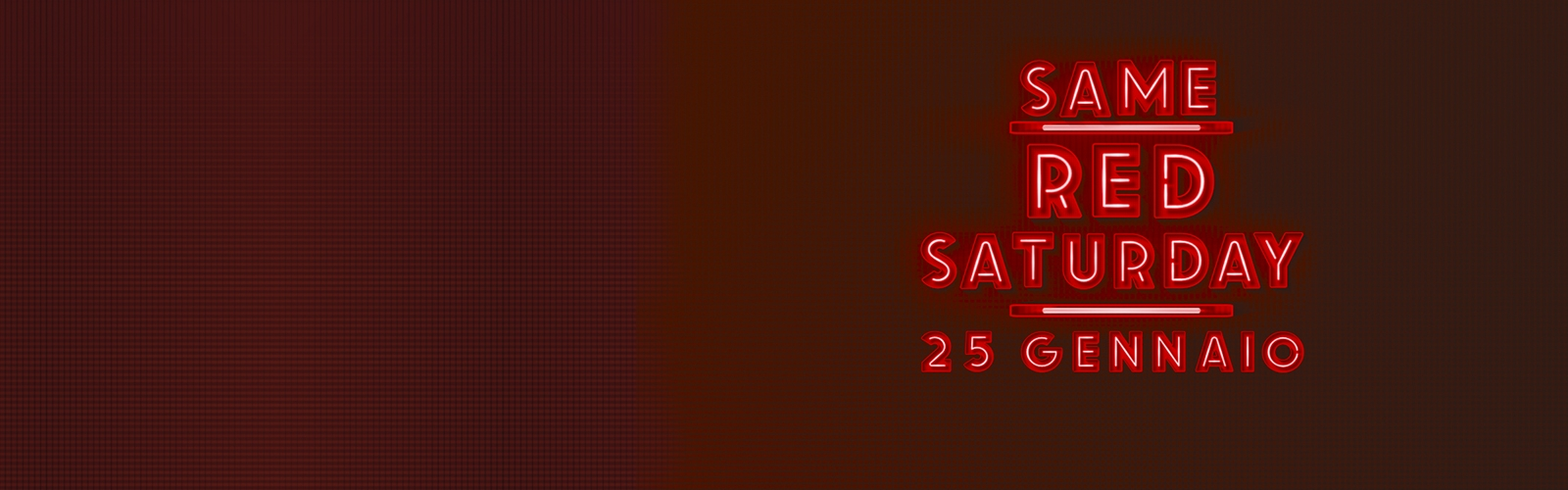 Red Saturday. 25 gennaio 2020.