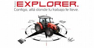 Gira de presentación nuevo SAME Explorer