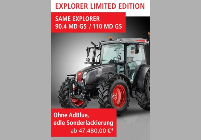 EXPLORER LIMITED EDITION 90.4 MD GS/110 MD GS